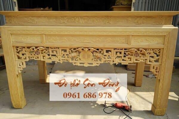 Địa chỉ đóng bàn thờ ở Hà Nội đẹp, chất lượng, giá tốt