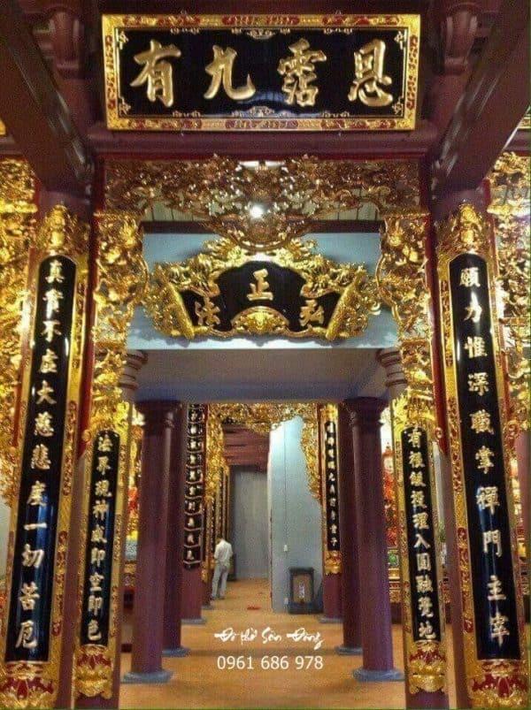 Cửa võng ngách chùa