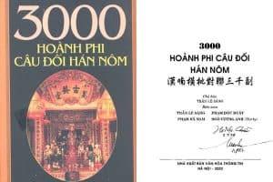 Ebook 3000 hoành phi câu đối Hán Nôm pdf
