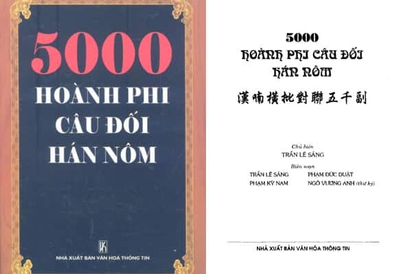 Ebook 5000 hoành phi câu đối Hán Nôm pdf