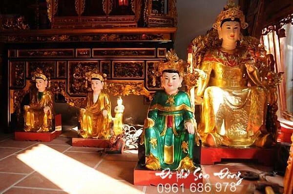 Giới thiệu về Làng nghề Sơn Đồng - Đồ thờ Chí Trung-1