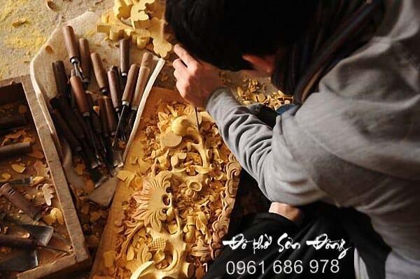 Giới thiệu về Làng nghề Sơn Đồng - Đồ thờ Chí Trung
