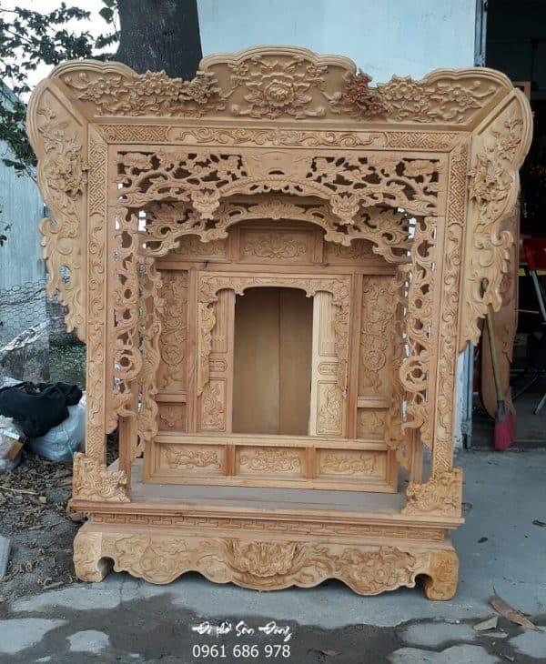 Khám thờ tư gia gỗ mít