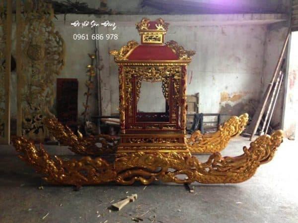 Kiệu thờ đình chùa