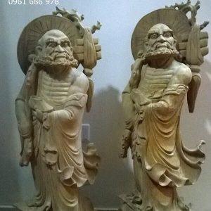Tượng Phật Đạt Ma
