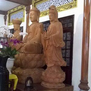 Tượng Tam Thánh Phật-1
