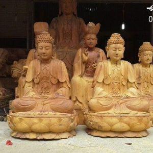 Tượng Tam Thế Phật-1