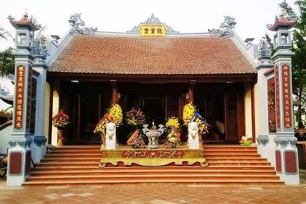 Nhà thờ, từ đường dòng họ của người Việt