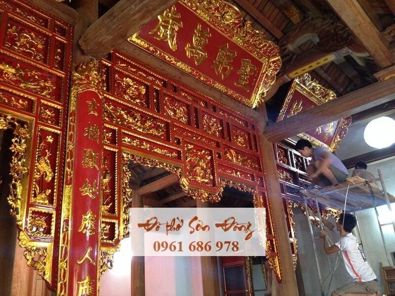 Thiết kế thi công ngôi chùa cổ-1