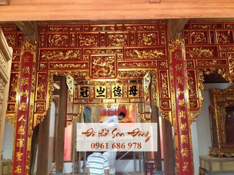 Thiết kế thi công ngôi chùa cổ