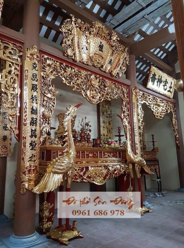 Thiết kế thi công nhà thờ họ Nguyễn
