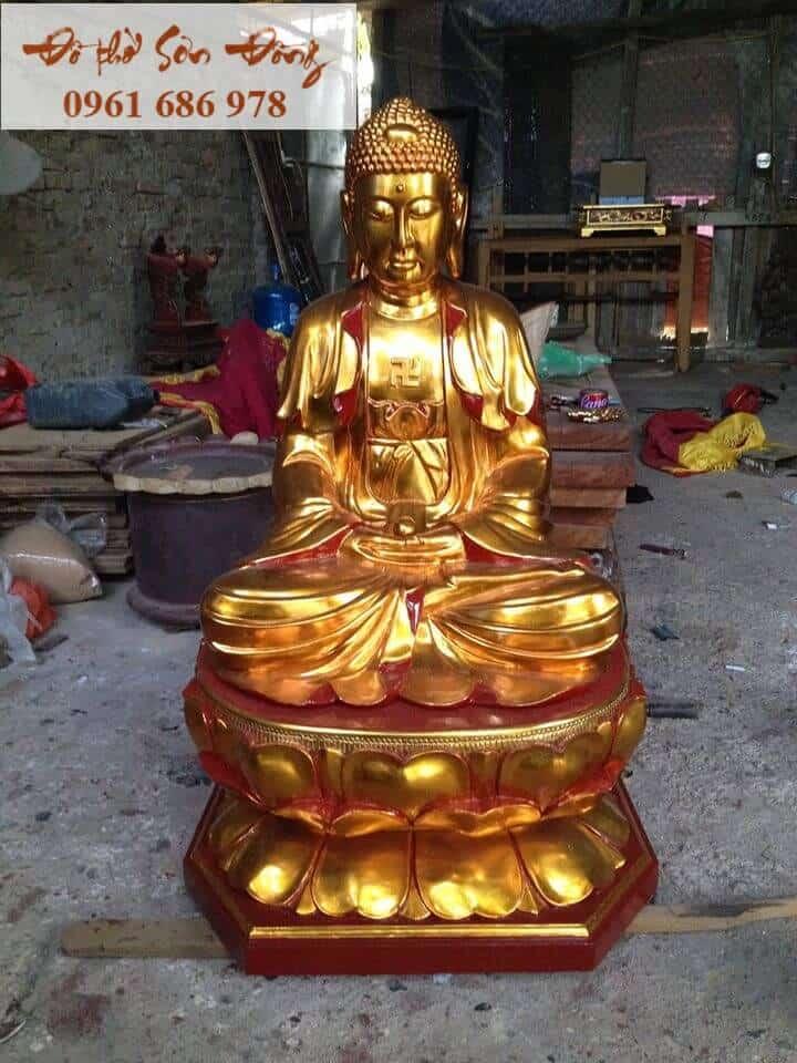 Tượng Phật A di đà Sơn Đồng