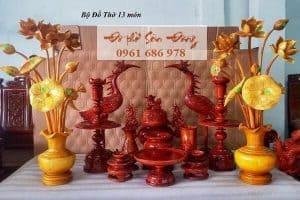 Đồ thờ tâm linh Sơn Đồng - Đồ thờ của người Việt