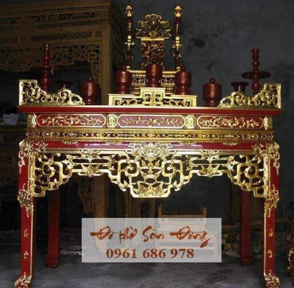 Mẫu bàn thờ đẹp số 01
