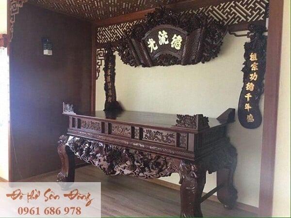 Những mẫu cuốn thư đẹp của làng nghề Sơn Đồng-5