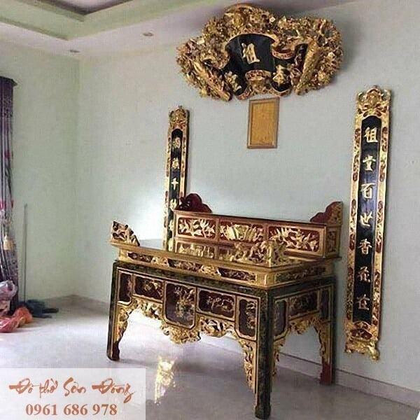 Những mẫu cuốn thư đẹp của làng nghề Sơn Đồng-7