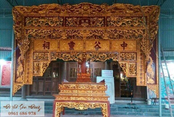 Bức trướng nhà thờ đẹp mẫu 1