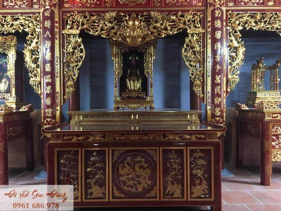 Mẫu bàn thờ chấp tải số 03