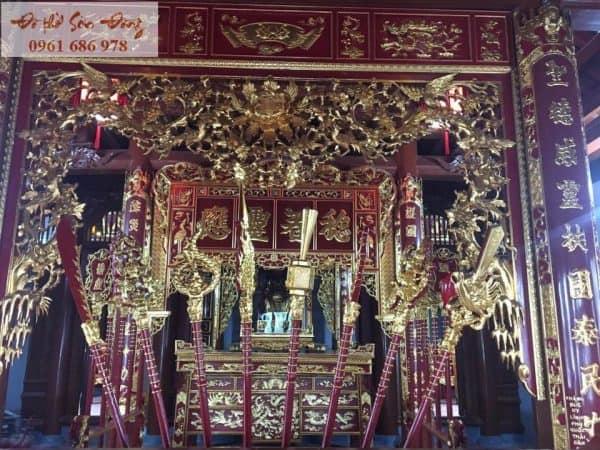 Thiết kế thi công đền thờ
