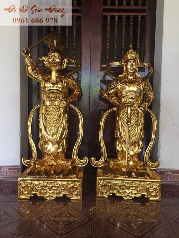 Tượng thờ Hộ Pháp Vi Đà và Tiêu Diện Đại Sĩ-1