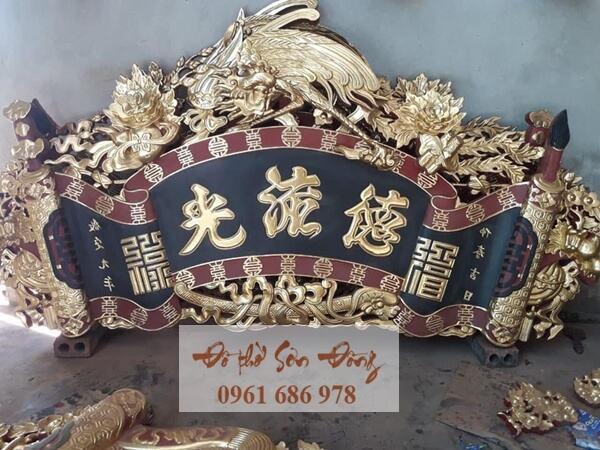 Mẫu cuốn thư đẹp Sơn Đồng