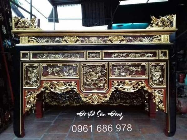 Phân loại các mẫu bàn thờ gia tiên đẹp thường dùng-3