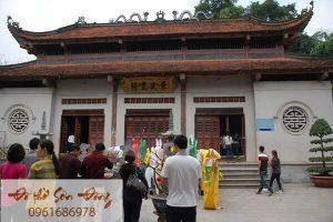 Văn khấn mẫu Đông Cuông, Sắm lễ mẫu Đông Cuông