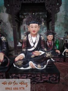Tượng thờ Tứ phủ Đạo mẫu giả cổ đẹp Sơn Đồng