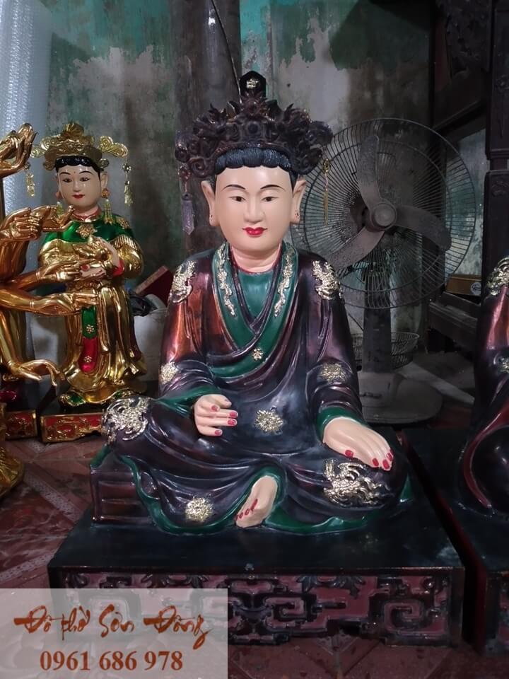 Tượng thờ Tứ phủ Đạo mẫu giả cổ đẹp Sơn Đồng-1